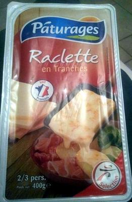 Raclette en tranches - Product - fr