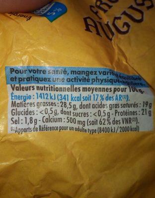 Tourond - Ingredients - fr