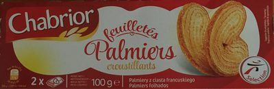Palmiers croustillants - Product