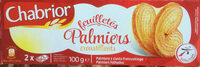 Feuilletés palmiers croustillants - Produkt - pl