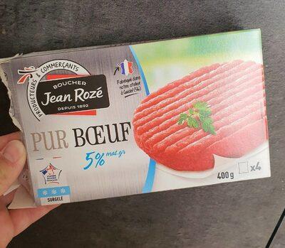 Steak Haché Pur Bœuf 5% de Matière Grasse - Produit