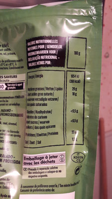 Grana Padano AOP - 100 g - Itinéraire des Saveurs - Nutrition facts
