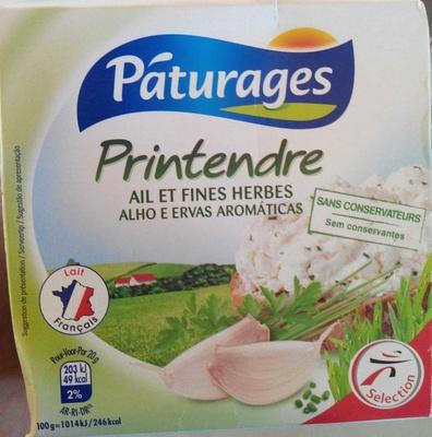 Pâturages Printendre ail et fines herbes - Product - fr