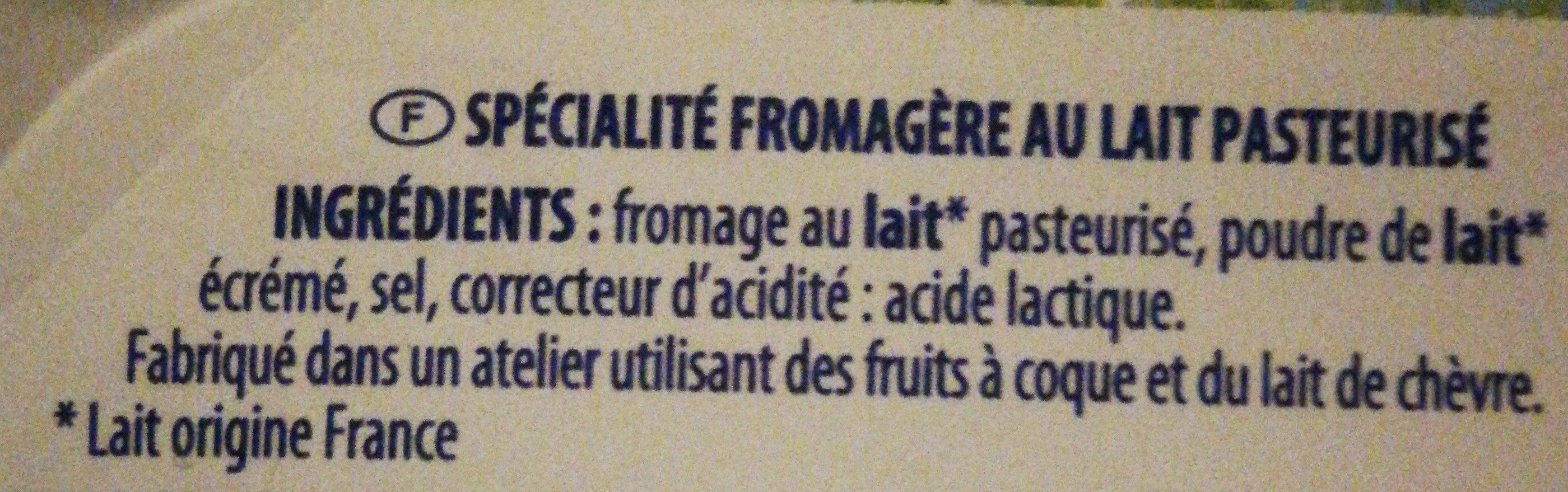 Pâturages Naturais - Ingredients - fr