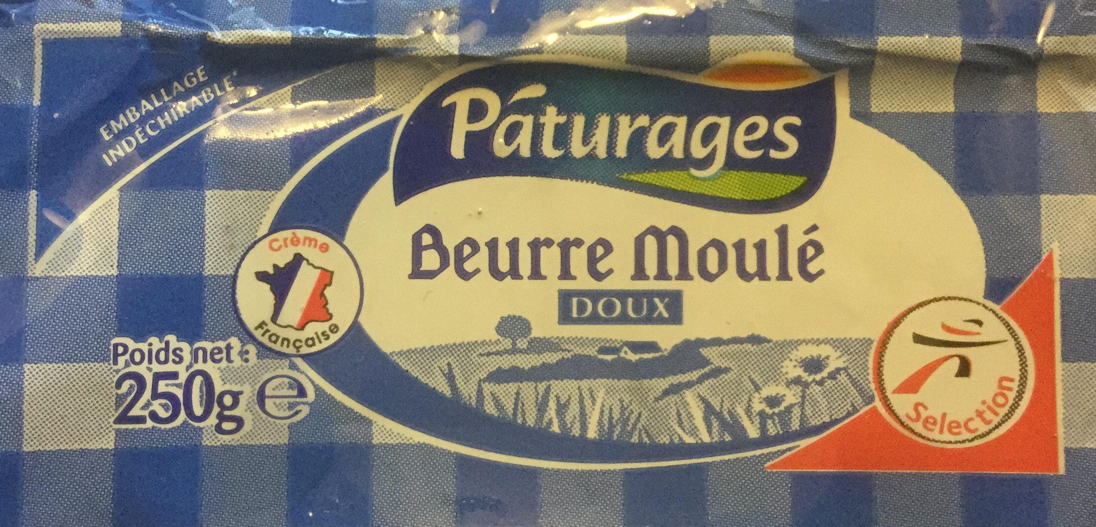 Beurre moulé doux - Produit