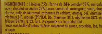 Choko bille - Ingrediënten