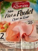 Mon Filet de Poulet - 2 Tranches - Doré au Four - Product