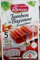 Jambon de Bayonne 5tr. - Product
