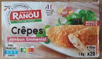 Crêpes jambon emmental - Produit - fr