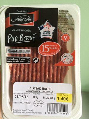 1 Steak Haché pur Bœuf - Produit