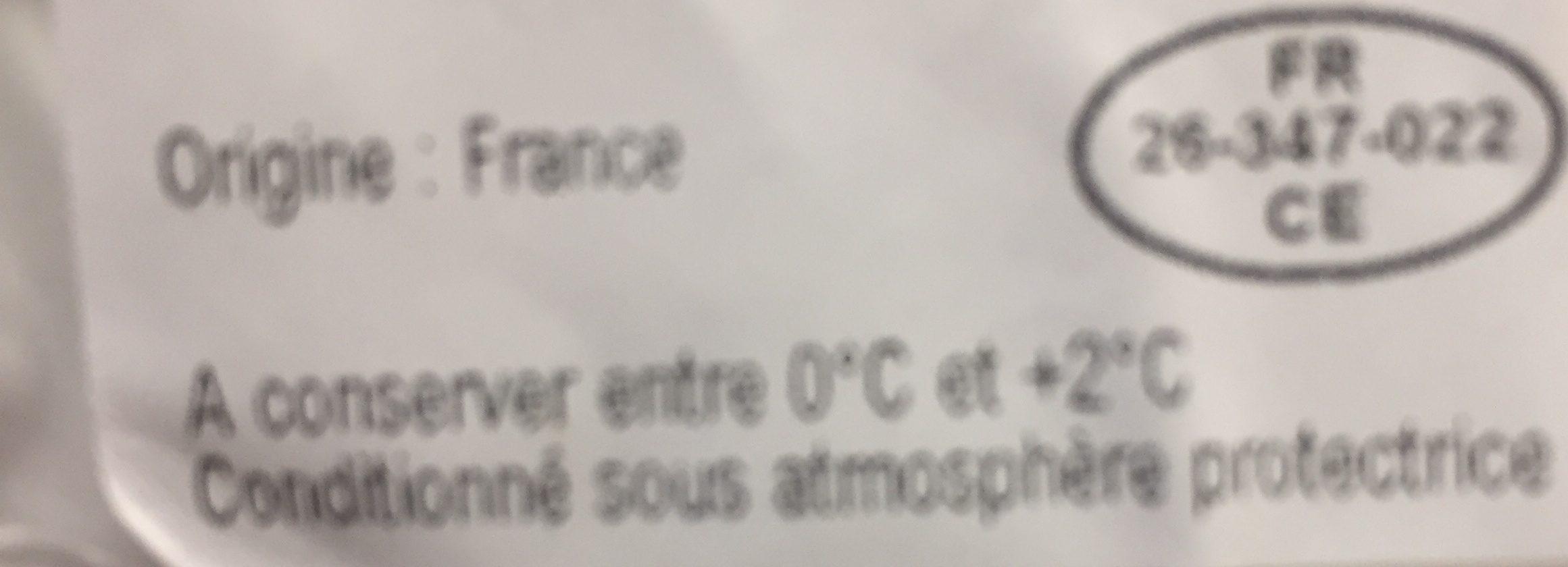 1 Steak Haché pur Bœuf - Ingrédients