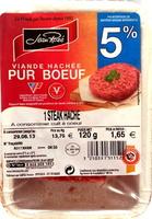 Steak haché Boeuf 5% - Produit - fr