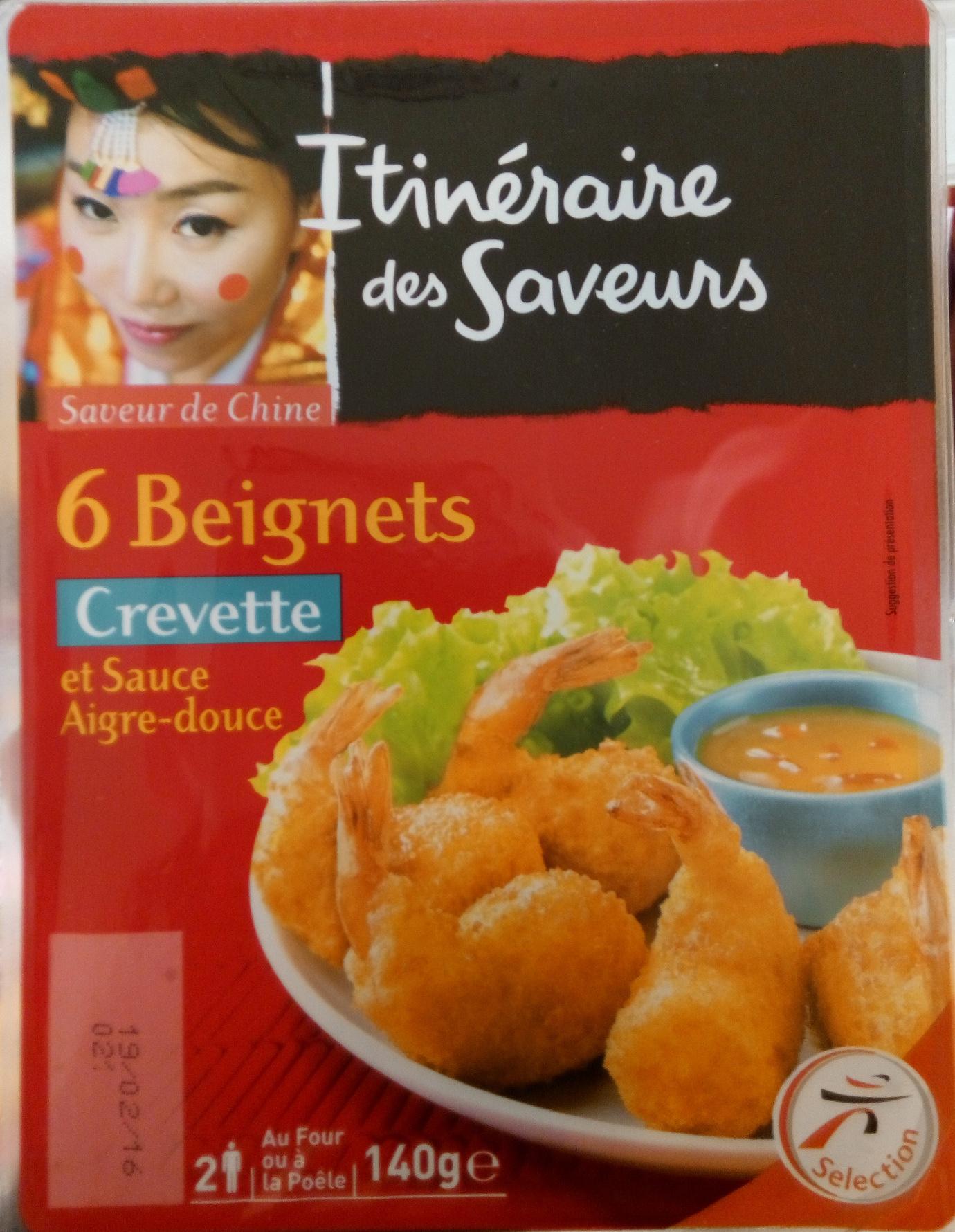 6 Beignets Crevette et Sauce Aigre-Douce - Produit