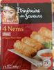 4 nems porc et sauce nuoc mam - Produit