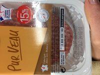 J.roze Steak Hache Veau - Ingrédients