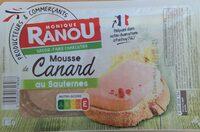 Mousse de canard au Sauternes - Product