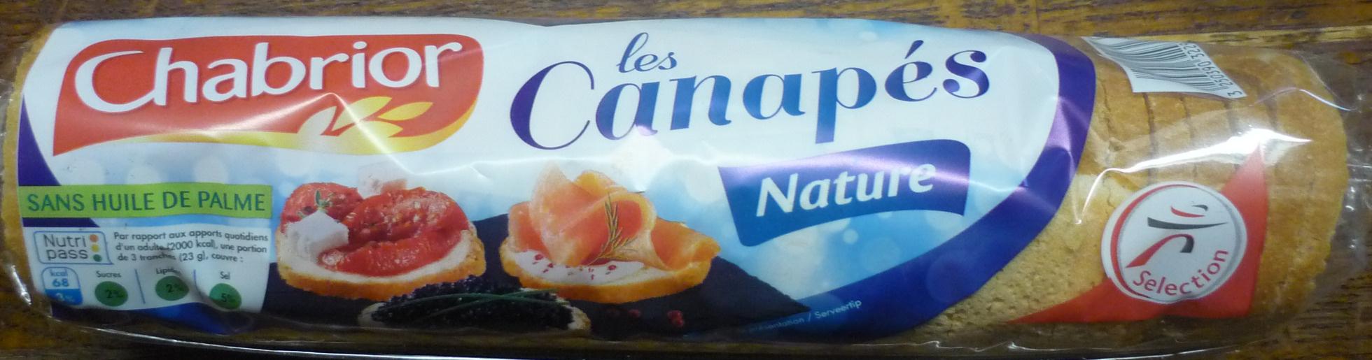 Les Canapés Nature - Produit