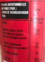 Saveur d'asie - sauce nuoc mam - 营养成分 - fr