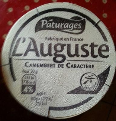 L'Auguste Camembert de caractère - Product - fr