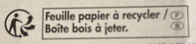 L'Auguste Camembert de caractère - Recyclinginstructies en / of verpakkingsinformatie - fr