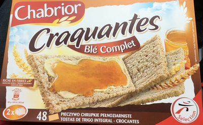 Tartines Craquantes Blé Complet - Produkt