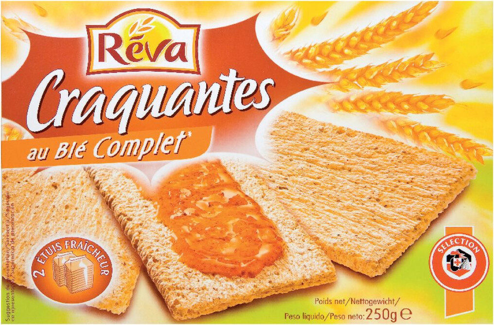 Tartines craquantes blé complet - Produkt - fr