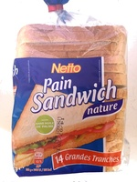 Pain Sandwich Nature - Produit