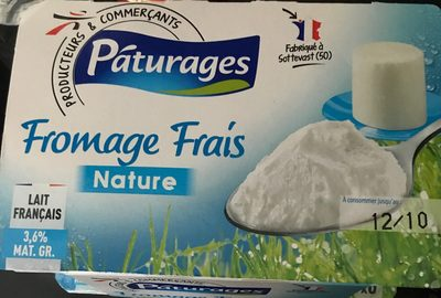 Fromages Frais - Product