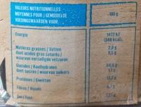 Farine de blé noir de Bretagne - Nutrition facts - fr
