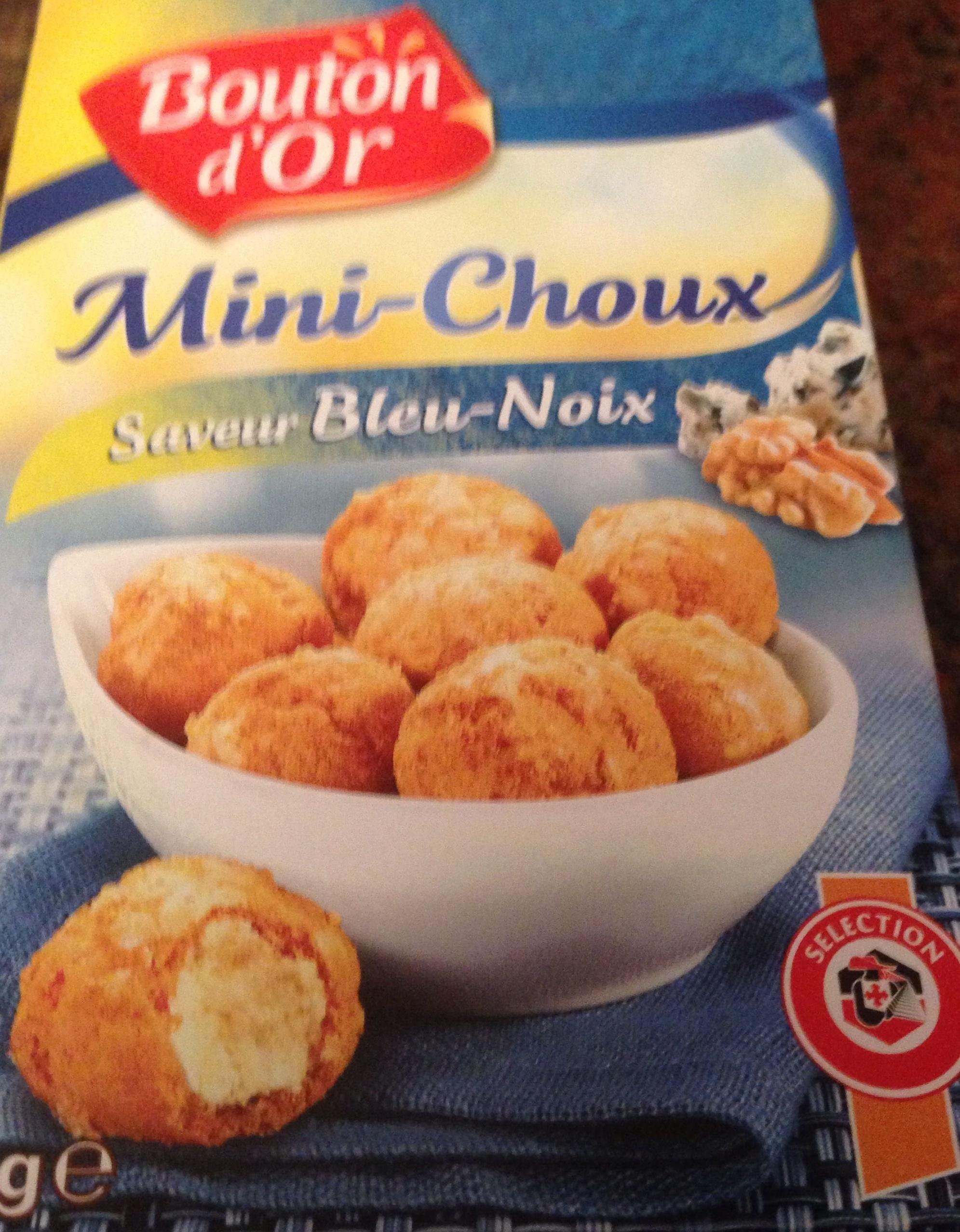Mini-Choux Saveur Bleu-Noix - Product