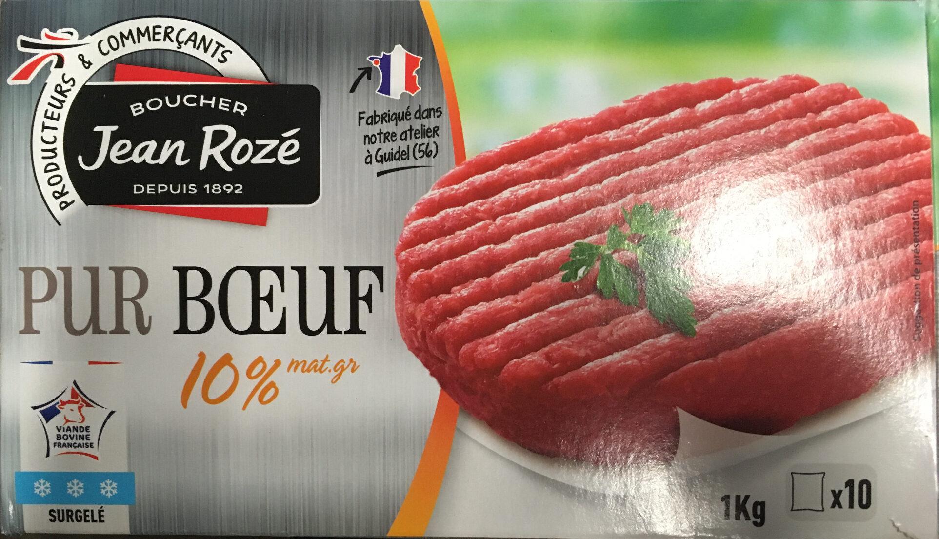 Steak haché 10% mat. gr. - Produit - fr