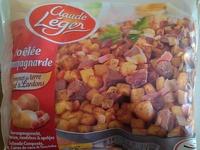 Poêlée Campagnarde (Pommes de terre Bœuf & Lardons), Surgelé - Product