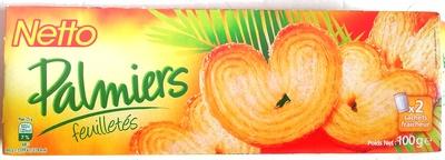 Palmiers feuilletés - Product - fr