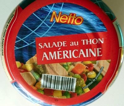 Salade au thon américaine - Produit - fr
