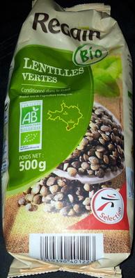 Lentilles Vertes - Product - fr