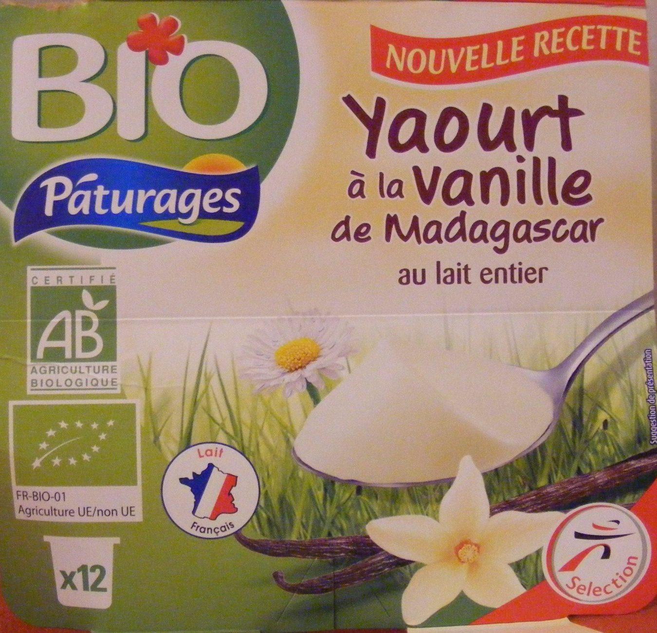 Yaourt à la vanille au lait entier - Product