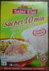 Sachet 10 min riz long grain - Produit