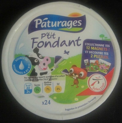 P'tit Fondant - Product - fr