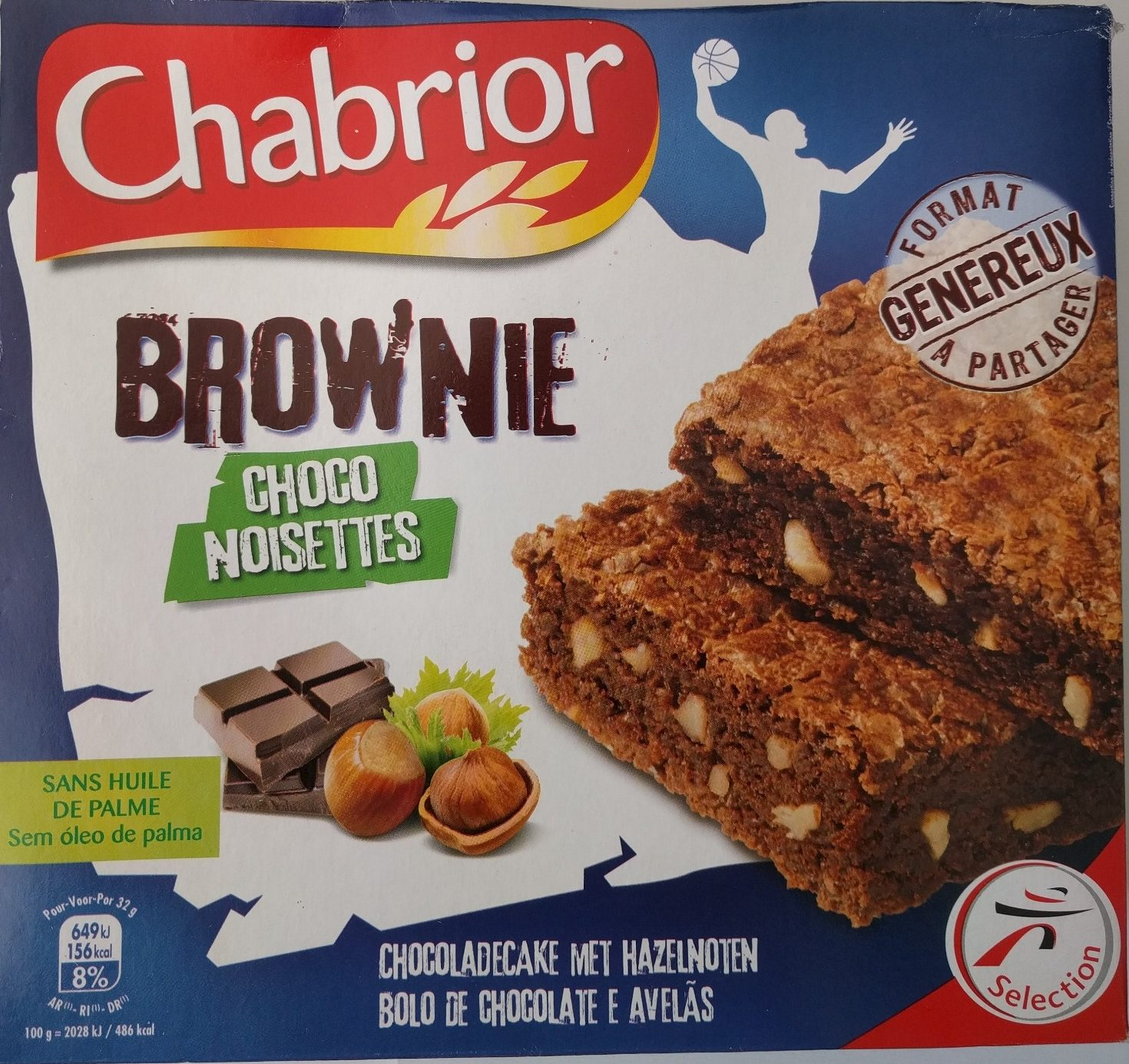 Brownie choco noisettes - Product