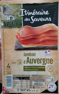 Jambon d'Auvergne - Product