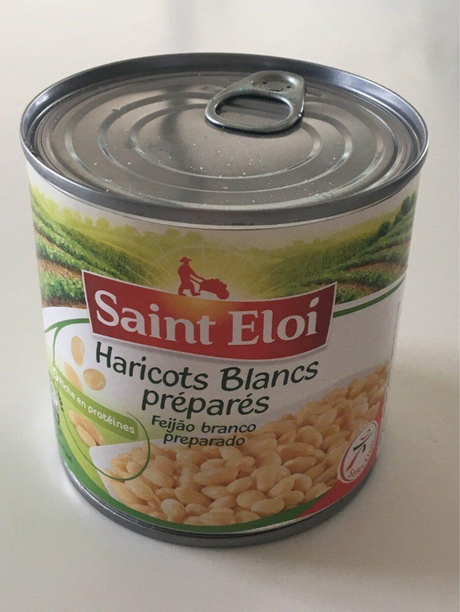 Haricots blancs prepares - Produit - fr