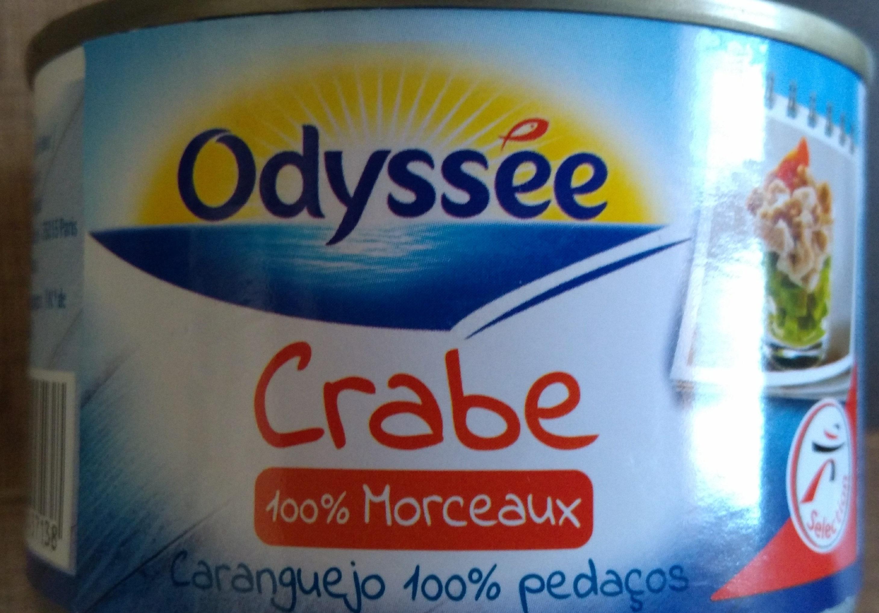 Crabe 100% Morceaux, La Boite De 145 gr - Product