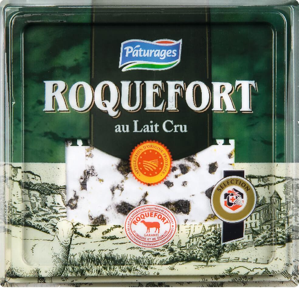 Roquefort au lait cru de brebis - Produit - fr