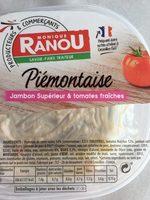 Piémontaise au jambon supérieur & tomates fraîches - Product