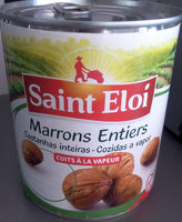 Marrons entiers - Nutrition facts