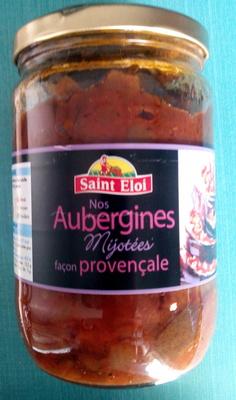 Nos Aubergines Mijotées façon provençale - Prodotto - fr