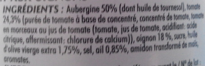 Nos Aubergines Mijotées façon provençale - Ingredienti - fr