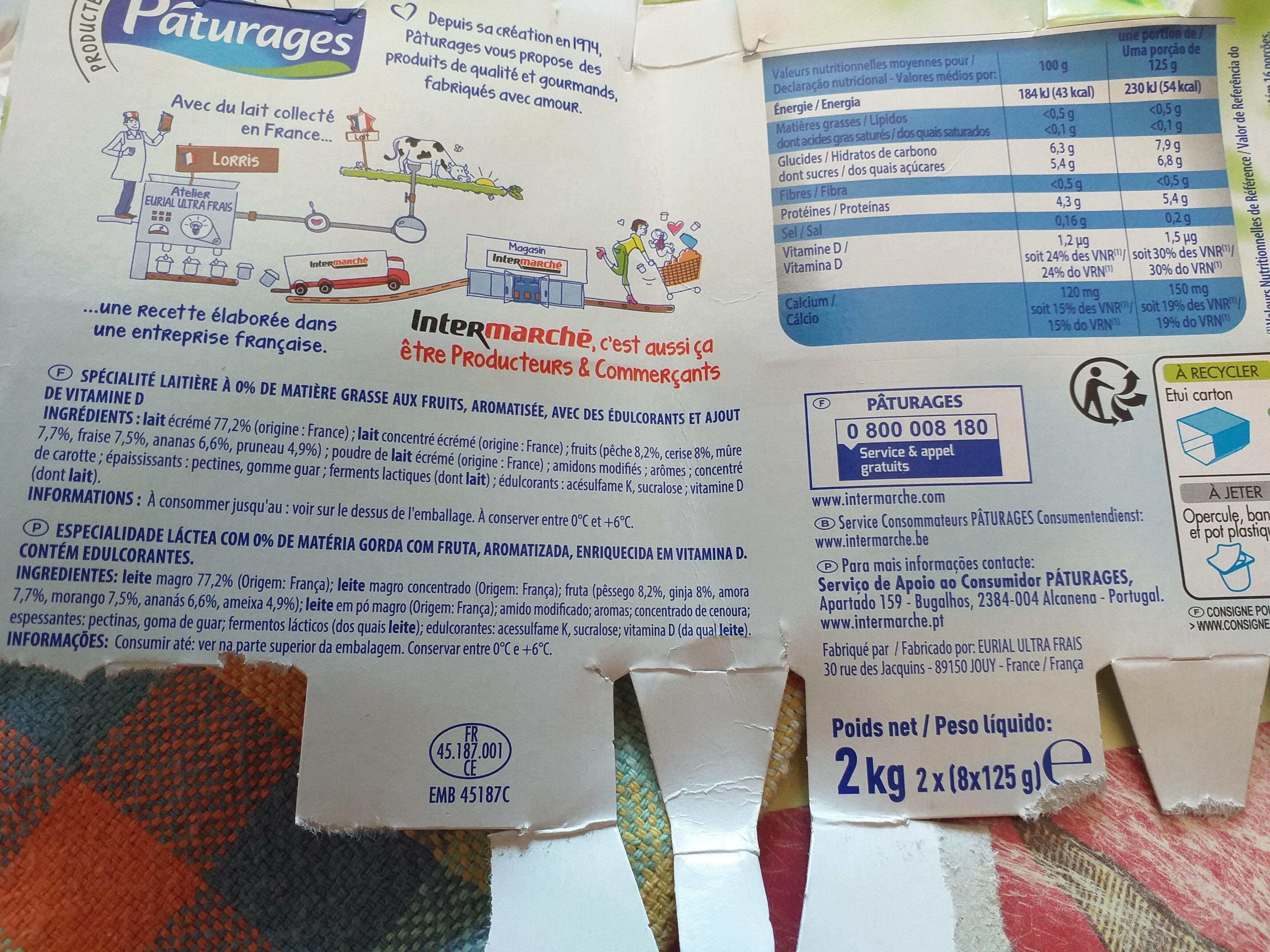 Printiligne Les Fruits - Product - fr