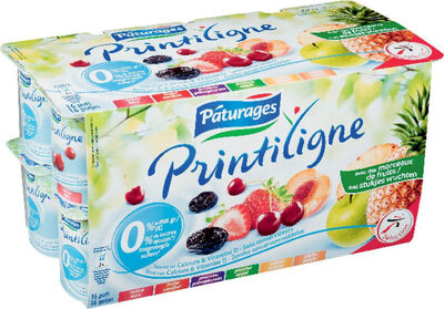 Yaourt aux fruits 0% - Product - fr