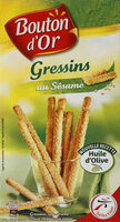 Gressins au sésame - Produit - fr